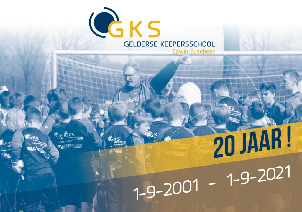 20 jaar GKS (Gelderse Keepers School)
